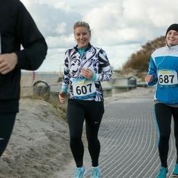Pärnu Rannajooks - Kadri Kruusvee (607), Marta-Johanna Mets (687)