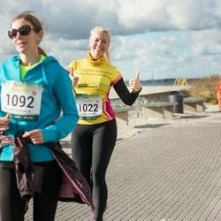 Pärnu Rannajooks - Merit Hirvoja-Tamm (1022), Karin Peters (1092)
