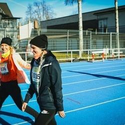 Pärnu Rannajooks - Laura Jürioja (1035), Ave Jürioja (1036)