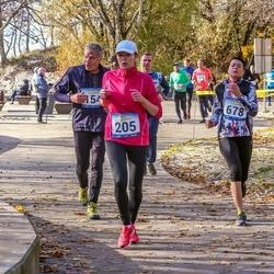 Pärnu Rannajooks - Gunnar Koitne (154), Kaari Tilga (205), Anna Sõrovarova (678)
