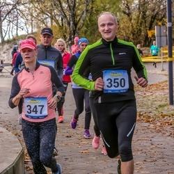 Pärnu Rannajooks - Riin Kiik (347), Tarmo Saar (350)
