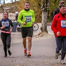 Pärnu Rannajooks - Kaspar Vihmaru (343), Karolyn Perle (359), Andres Turro (549)
