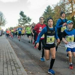 45. Saaremaa kolme päeva jooksu noortejooks - Oliver Grauen (4), Kārlis Dieviņš (5), Roberts Aleksis Glazers (6)