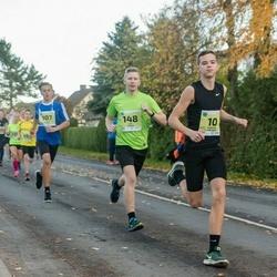 45. Saaremaa kolme päeva jooksu noortejooks - Andreas Hantson (10), Ehard Kuusk (107), Karl Lember (148)