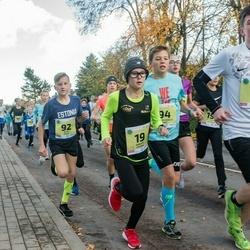 45. Saaremaa kolme päeva jooksu noortejooks - Roberts Cercins (19), Risto Kalju (92), Richard Marcus Arge (94)