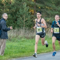 45. Saaremaa kolme päeva jooksu noortejooks - Artis Rožkalns (1), Hardy Kaska (35)