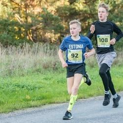 45. Saaremaa kolme päeva jooksu noortejooks - Risto Kalju (92), Rasmus Hummal (108)