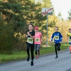 45. Saaremaa kolme päeva jooksu noortejooks - Triin Erala (38), Kristofer Kerno (102), Uku Marten Vaikmaa (195)