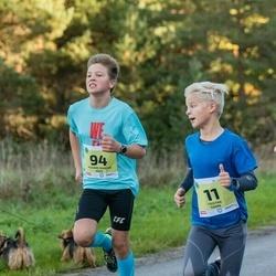 45. Saaremaa kolme päeva jooksu noortejooks - Tristan Tamm (11), Richard Marcus Arge (94)