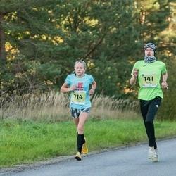 45. Saaremaa kolme päeva jooksu noortejooks - Liise Lillelaid (114), Ragnar Rätsepp (141)