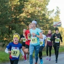 45. Saaremaa kolme päeva jooksu noortejooks - Richard Vlassov (37), Brigitte Panker (63)