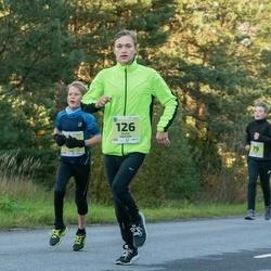 45. Saaremaa kolme päeva jooksu noortejooks - Mattias Oll (79), Silver Vahstein (126)