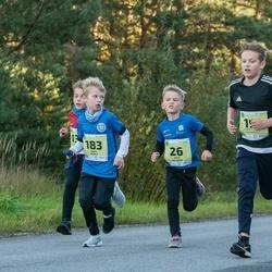 45. Saaremaa kolme päeva jooksu noortejooks - Arto Kaljumäe (26), Karel Mahla (183)