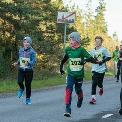 45. Saaremaa kolme päeva jooksu noortejooks - Grete-Liis Roosioks (43), Ennar Talvik (134), Artur Pastak (202), Simon Erik Palu (209)