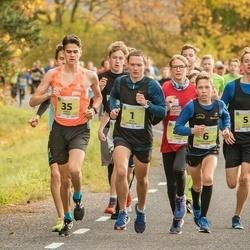 45. Saaremaa kolme päeva jooksu noortejooks - Artis Rožkalns (1), Kārlis Dieviņš (5), Roberts Aleksis Glazers (6), Hardy Kaska (35)