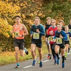 45. Saaremaa kolme päeva jooksu noortejooks - Artis Rožkalns (1), Kārlis Dieviņš (5), Roberts Aleksis Glazers (6), Andreas Hantson (10), Hardy Kaska (35), Raimond Parts (86)