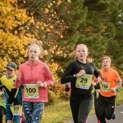 45. Saaremaa kolme päeva jooksu noortejooks - Eliise Luks (29), Anna Maria Raspel (100), Alar Reiljan (116)