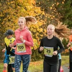 45. Saaremaa kolme päeva jooksu noortejooks - Eliise Luks (29), Anna Maria Raspel (100)