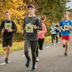 45. Saaremaa kolme päeva jooksu noortejooks - Heiki Peterkopf (54), Mihkel Keso (64), Ehard Kuusk (107)