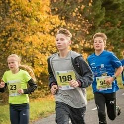 45. Saaremaa kolme päeva jooksu noortejooks - Kätlin Talu (23), Richard Marcus Arge (94), Andrei Sten Õunpuu (198)