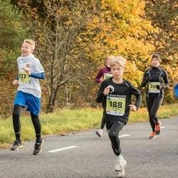 45. Saaremaa kolme päeva jooksu noortejooks - Rica Veevo (22), Harald Hütt (34), Sigvard Suppi (157), Uku Hann Susi (188), Hedili Nõu (555)