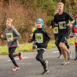 45. Saaremaa kolme päeva jooksu noortejooks - Kaur Kannel (75), Liisa Sall (139), Romet Reimal (215)