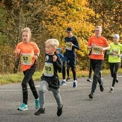 45. Saaremaa kolme päeva jooksu noortejooks - Henri Säkk (51), Mathias Kaljuvee (180), Juss Susi (189), Oskar Pagil (698)