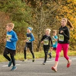 45. Saaremaa kolme päeva jooksu noortejooks - Mattias Siim Atonen (58), Kristo Kombe (197), Marta Kalnina (211)