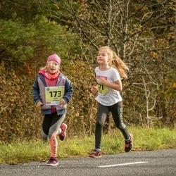 45. Saaremaa kolme päeva jooksu noortejooks - Mirjam Paimre (171), Anni Kubjas (173)