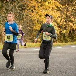 45. Saaremaa kolme päeva jooksu noortejooks - Gregor Vain (83), Harald Parts (87), Magnus Pall (161)