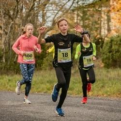 45. Saaremaa kolme päeva jooksu noortejooks - Ričards Dāvis Špacs (18), Roberts Cercins (19), Anna Maria Raspel (100), Birgit Veldi (128)
