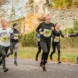 45. Saaremaa kolme päeva jooksu noortejooks - Tristan Tamm (11), Eliise Luks (29), Annabel Raudsepp (163), Liivika Paas (167)