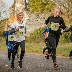 45. Saaremaa kolme päeva jooksu noortejooks - Tristan Tamm (11), Eliise Luks (29)