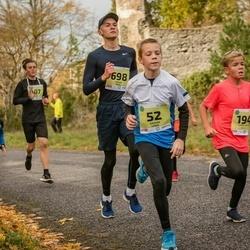 45. Saaremaa kolme päeva jooksu noortejooks - Kaspar Linde (52), Markus Pungar (187), Edward Mihkel Oll (194), Oskar Pagil (698)