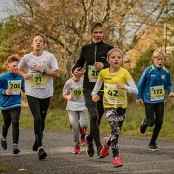 45. Saaremaa kolme päeva jooksu noortejooks - Marit Tarm (42), Joosep Vahter (71), Markus Kubjas (172), Reio Markkus Lepp (208)