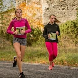 45. Saaremaa kolme päeva jooksu noortejooks - Kristiana Säkk (50), Marta Kalnina (211)