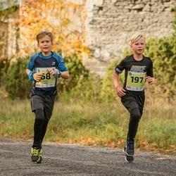 45. Saaremaa kolme päeva jooksu noortejooks - Robin Luik (68), Kristo Kombe (197)