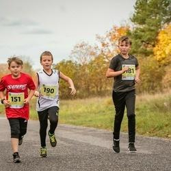 45. Saaremaa kolme päeva jooksu noortejooks - Sebastian Veinpere (151), Arthur Kaljuvee (181), Henri Hunt (190)