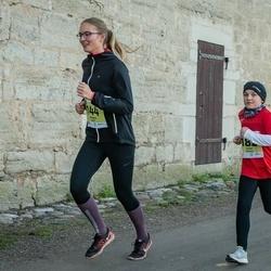 45. Saaremaa kolme päeva jooksu noortejooks - Johanna Hütt (144), Janar Mahla (182)