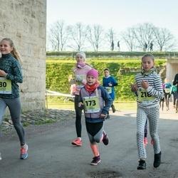 45. Saaremaa kolme päeva jooksu noortejooks - Elisabeth Vallner (80), Anni Kubjas (173), Liisa Nõmm (218)