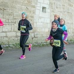 45. Saaremaa kolme päeva jooksu noortejooks - Kristin Poopuu (160), Marili Paimre (168), Knette Väljaots (199)