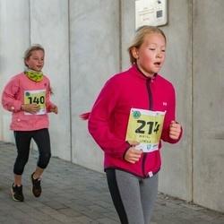 45. Saaremaa kolme päeva jooksu noortejooks - Lisete Treier (140), Mirtel Utrila (214)