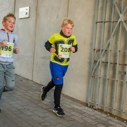 45. Saaremaa kolme päeva jooksu noortejooks - Gregor Hein (196), Kert Kombe (200)