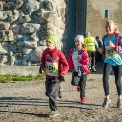45. Saaremaa kolme päeva jooksu noortejooks - Emma Sophia Pukk (85), Sander Grauen (106)