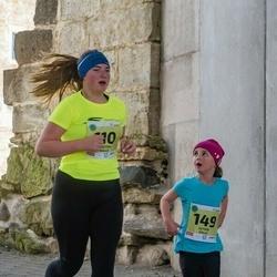 45. Saaremaa kolme päeva jooksu noortejooks - Kristiin Kalle (110), Ketrin Kalle (149)