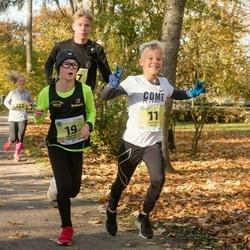 45. Saaremaa kolme päeva jooksu noortejooks - Tristan Tamm (11), Roberts Cercins (19)