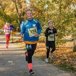 45. Saaremaa kolme päeva jooksu noortejooks - Anna Mia Atonen (57), Markus Kubjas (172), Uku Hann Susi (188)