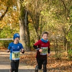 45. Saaremaa kolme päeva jooksu noortejooks - Arto Kaljumäe (26), Urban Aik Sild (136)