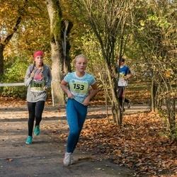 45. Saaremaa kolme päeva jooksu noortejooks - Saskia Kütt (153), Carmen Järvalt (186)