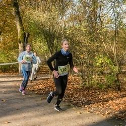 45. Saaremaa kolme päeva jooksu noortejooks - Annemari Laugal (124), Katriin Aksalu (130)